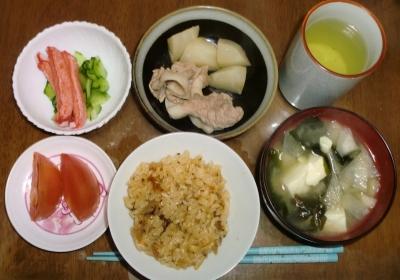 毎日、低カロリーな晩ご飯を!(12.1〜12.7)