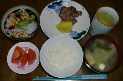 毎日、低カロリーな晩ご飯を!(12.8〜12.14)