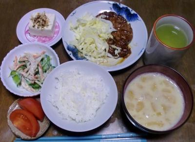 毎日、低カロリーな晩ご飯を!(12.15〜12.21)