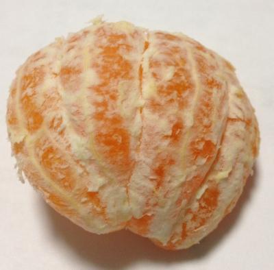 愛媛の新しい柑橘の「はれひめ」を食べました
