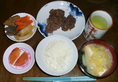 毎日、低カロリーな晩ご飯を!(1.5〜1.11)