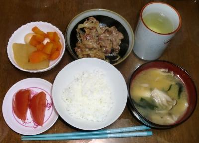 毎日、低カロリーな晩ご飯を!(2.23〜3.1)