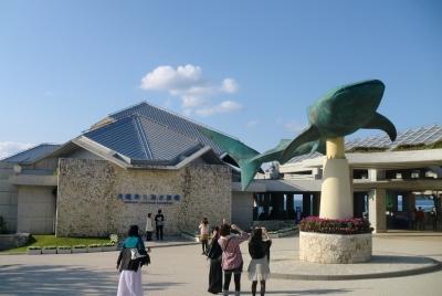 美ら海水族館を2時間と言う時間で周って楽しかったですね