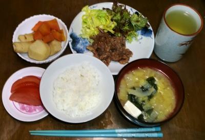 毎日、低カロリーな晩ご飯を!(3.2〜3.8)