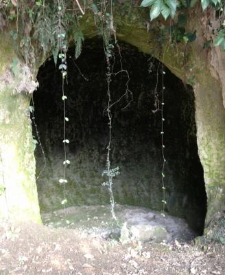 鹿児島市内観光で最初に行ったのは城山展望台と西郷洞窟でした