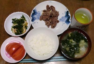 毎日、低カロリーな晩ご飯を!(3.23〜3.29)
