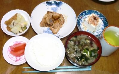 毎日、低カロリーな晩ご飯を!(3.30〜4.5)