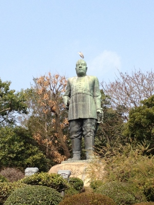 西郷隆盛さんの銅像を再度見てから