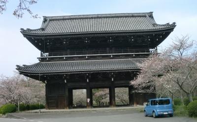 覚善寺を出て根来寺へ行きました