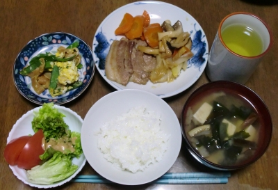 毎日、低カロリーな晩ご飯を!(4.6〜4.12)