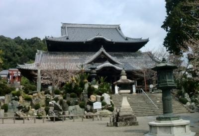 根来寺を車窓見学後に粉河寺へ行きました
