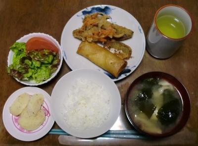 毎日、低カロリーな晩ご飯を!(4.13〜4.19)