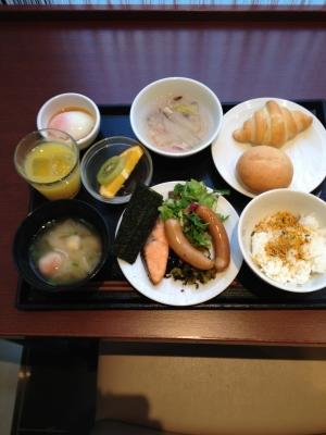 天然温泉 六花の湯 ドーミーイン熊本で朝食