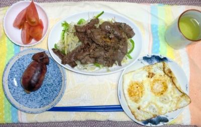 毎日、低カロリーな晩ご飯を!(4.27〜5.3)