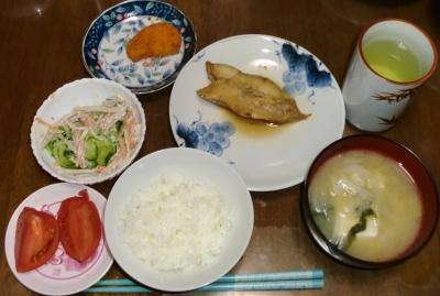 毎日、低カロリーな晩ご飯を!(5.4〜5.10)