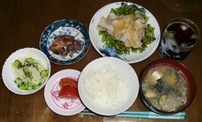 毎日、低カロリーな晩ご飯を!(6.1〜6.7)