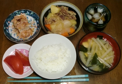 毎日、低カロリーな晩ご飯を!(6.15〜6.21)