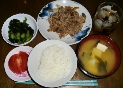 毎日、低カロリーな晩ご飯を!(6.22〜6.28)