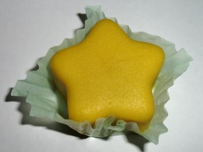 今日のおやつは「あわしま堂の七夕のお菓子」でした
