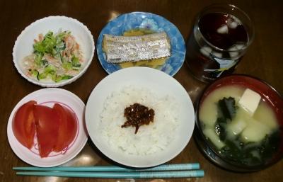 毎日、低カロリーな晩ご飯を!(7.6〜7.12)