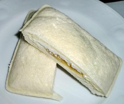 今日のおやつは「ネクター完熟バナナクリーム&ホイップ」