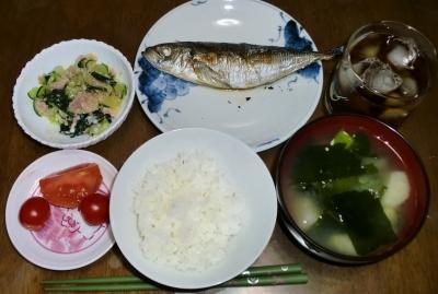 毎日、低カロリーな晩ご飯を!(7/20〜7.26)