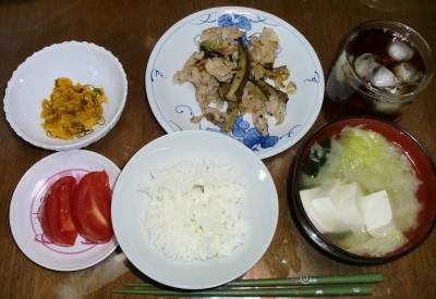 毎日、低カロリーな晩ご飯を!(7/27〜8.2)