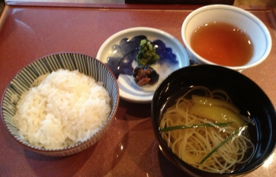 大谷山荘のお料理も絶品で美味しかったです