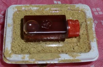 今日のおやつは「桔梗信玄餅」でした