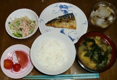 毎日、低カロリーな晩ご飯を!(8.31〜9.6)