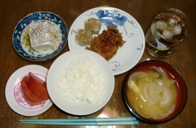 毎日、低カロリーな晩ご飯を!(9.7〜9.13)