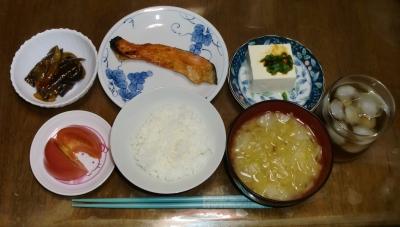毎日、低カロリーな晩ご飯を!(9.28〜10.4)