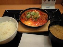 麻婆カツ鍋定食