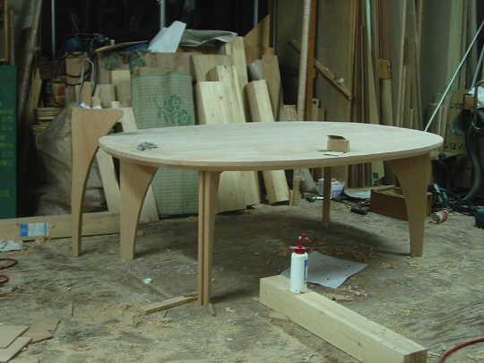 池田君のスーパー楕円テーブル