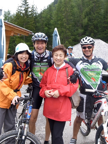 自転車と澄子さん