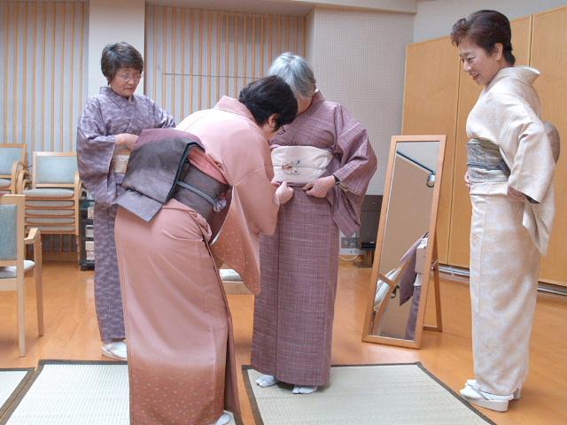 成田さんの着付け教室