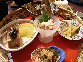 阿部旅館 夕飯1