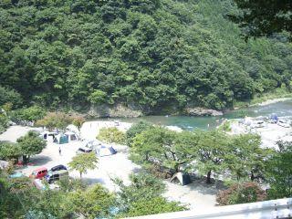 道志渓谷キャンプ場1