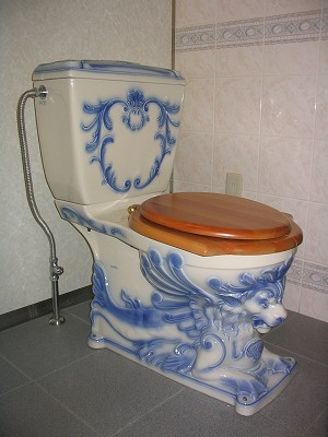 オーストリアのトイレ