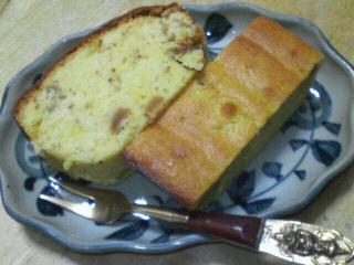 ドライフィグのパウンドケーキ