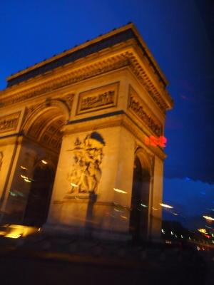 パリ 凱旋門