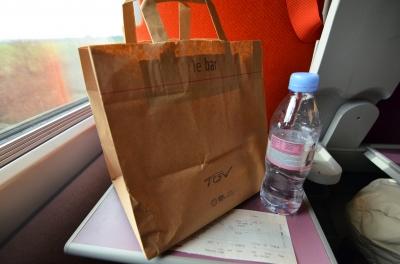 TGV 食事