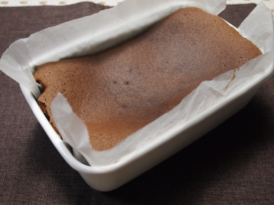野田琺瑯 ホワイトシリーズ  オードリーヘップバーンのチョコレートケーキ