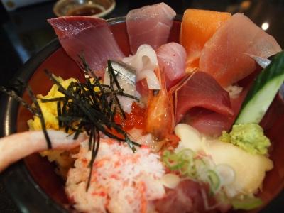 近江町市場 海鮮丼