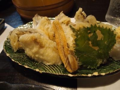 いたる 深海魚の天ぷら
