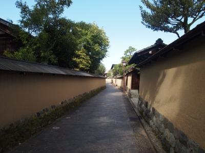 金沢 長町武家屋敷跡  土塀