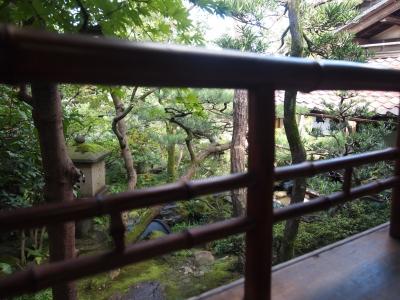 金沢 野村家 庭