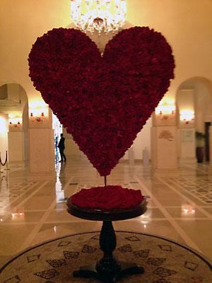 セレナホテルのバレンタイン
