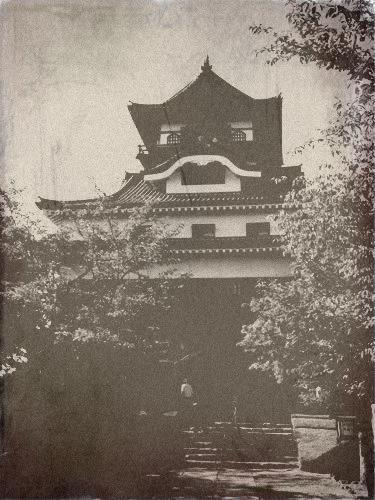 犬山城・・・