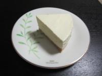 レアチーズケーキ完成